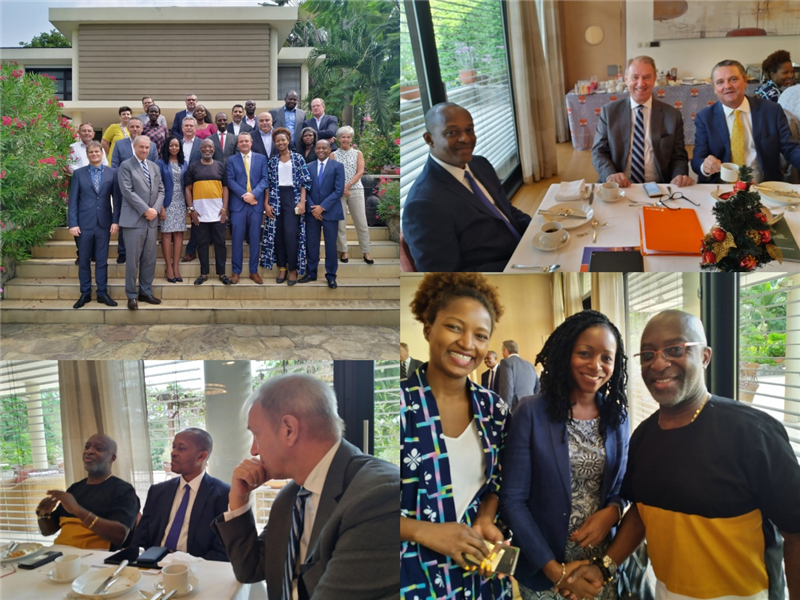 Premium Member Business Breakfast with GIPC's Mr Yofi Grant & PwC 's Vish Ashiagbor