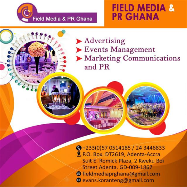 NEW MEMBER: Field Media & PR Ghana