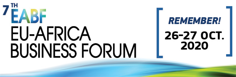 Invitation to 7th EU-Africa Business Forum, October 2020